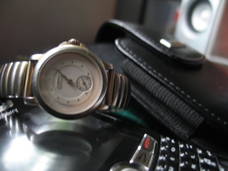 The more than decade-old watch!